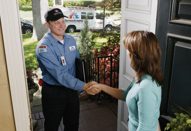 in-home estimate from Winnipeg Supply Service Experts Heating & Air Conditioning